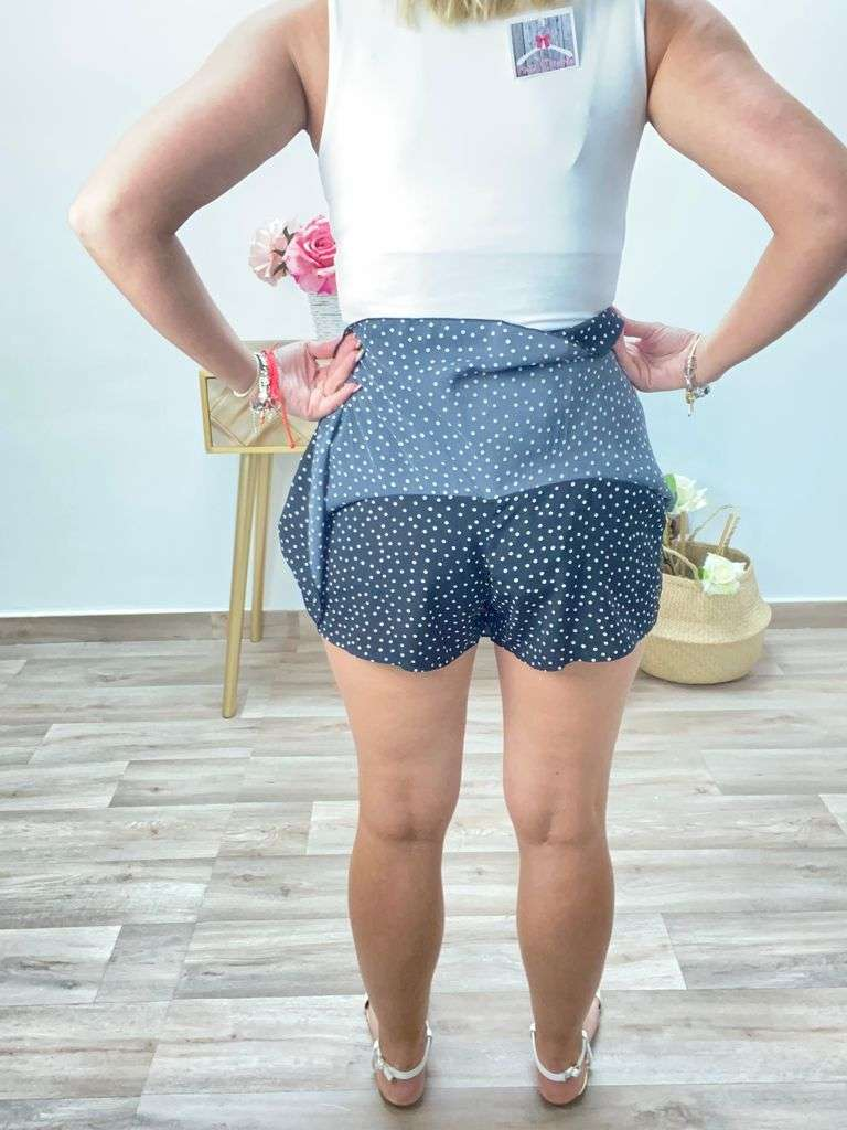 posat divina falda pantalon lunares