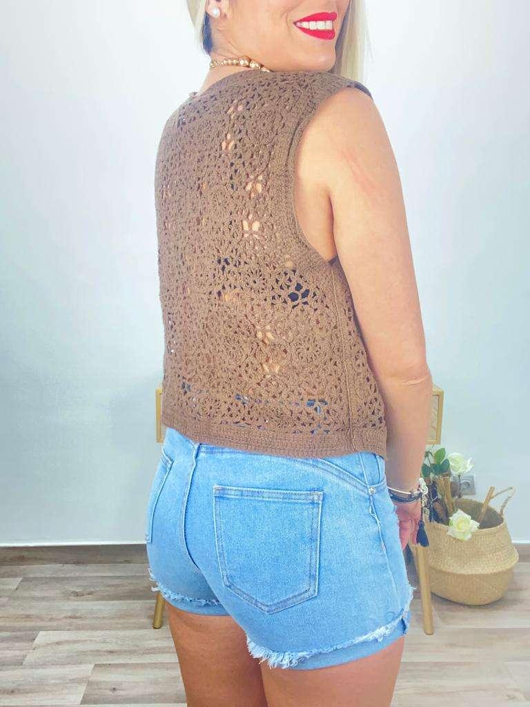 posat divina valencia chaleco crochet