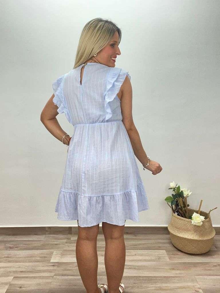 posat divina vestido lino