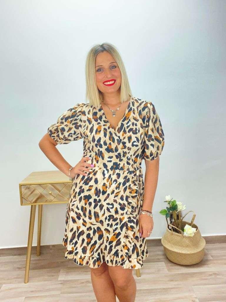 posa't divina vestido leopardo