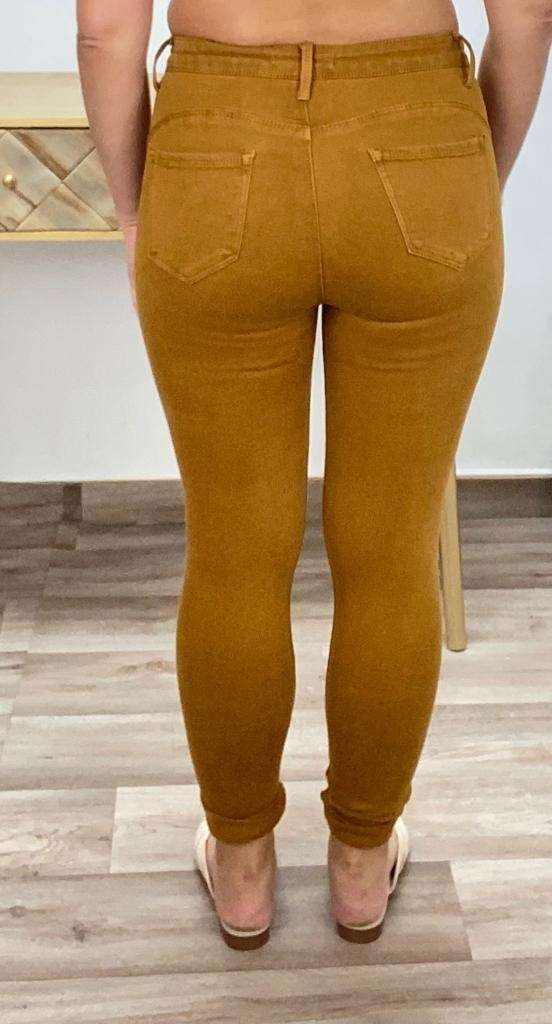 Pantalón Mostaza Posa't Divina