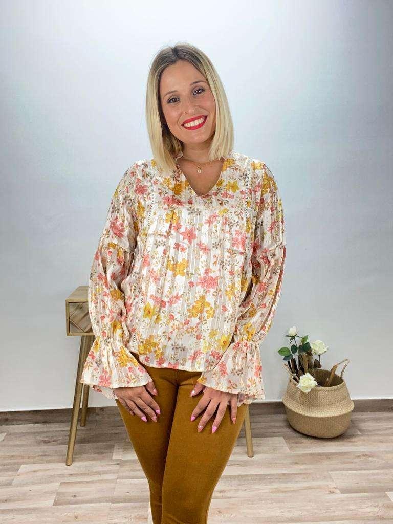 posa't divina blusa flores